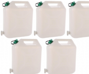 10 Ltr Water Container + Tap (Pack of 5)